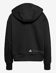 adidas by Stella McCartney - Full-Zip Cropped Hoodie W - collegepaidat ja hupparit - black - 2