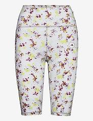 adidas by Stella McCartney - TruePurpose Allover Print Cycling Tights W - træningsshorts - white/multco - 1