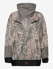 adidas by Stella McCartney - Future Playground Half-Zip Printed Jacket W - training jackets - pnktin/talc/pearos/bl - 1