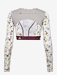 adidas by Stella McCartney - Future Playground Long Sleeve Crop Top W - toppe og t-shirts - clowhi/pnktin/aciyel/ - 2