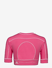 adidas by Stella McCartney - TrueStrength Yoga Crop Top W - tops & t-shirts - sopink - 1