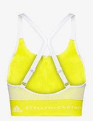 adidas by Stella McCartney - TruePurpose Seamless Bra W - sport bras: low - aciyel/white - 2