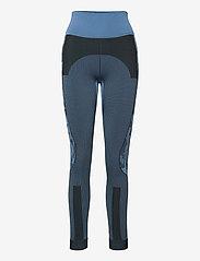 adidas by Stella McCartney - TruePurpose Seamless Tights W - running & training tights - stoblu/black - 1