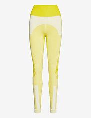 adidas by Stella McCartney - TruePurpose Seamless Tights W - löpnings- och träningstights - aciyel/white - 1