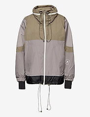 adidas by Stella McCartney - Training Suit Jacket W - träningsjackor - dovgry/clay/black - 1
