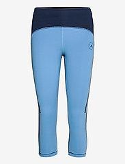 adidas by Stella McCartney - TruePace HEAT.RDY Primeblue 3/4 Tights W - löpnings- och träningstights - conavy/stoblu - 0