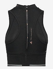 adidas by Stella McCartney - TruePace HEAT.RDY Running Crop Top W - tops & t-shirts - black - 2