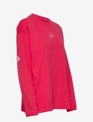 adidas by Stella McCartney - Cotton Long Sleeve Tee W - long-sleeved tops - actpnk - 2
