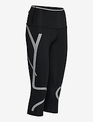 adidas by Stella McCartney - TruePace HEAT.RDY Mid Waist 3/4 Running Tights W - tights & shorts - black - 3
