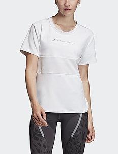 RUN LOOSE TEE - logo t-shirts - white