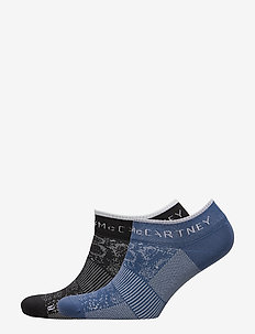 ANKLE SOCKS - BLACK/VISBLU