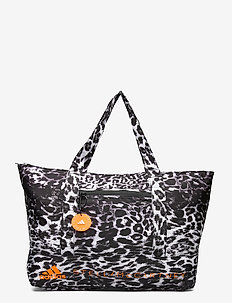 LARGE TOTE - gym bags - black/white/apsior