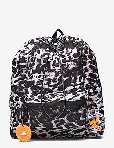 GYMSACK - training bags - black/white/apsior