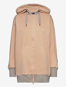 FZ HOODIE - hoodies - sofpow/lbrown
