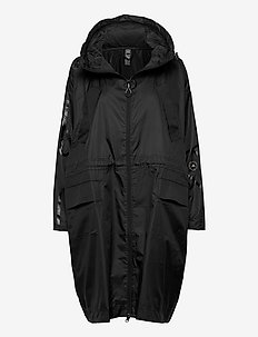 LONG PARKA W.R. - parkasjackor - black