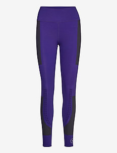 SUPPORT TIGHT - running & training tights - cpurpl