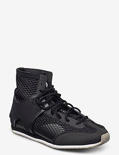 Boxing Shoe S. - träningsskor - cblack/lbrown/ftwwht