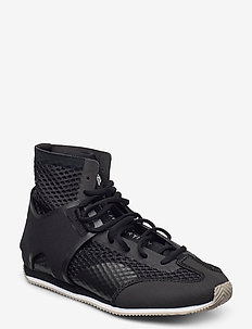 Boxing Shoe S. - training shoes - cblack/lbrown/ftwwht