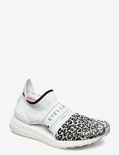 UltraBOOST X 3.D. Knit S. - running shoes - cblack/ftwwht/sorang