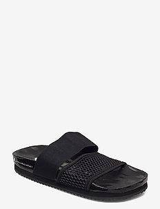 Lette Slides W - chaussures - cblack/cblack/ftwwht