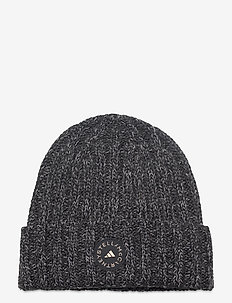 BEANIE - bonnets - black/ash