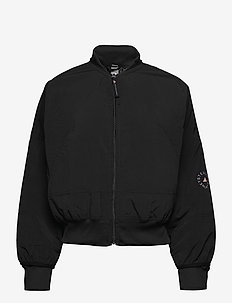 Woven Bomber Jacket W - bomber jackets - black