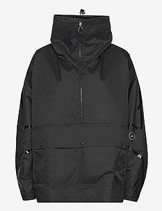Half-Zip Mid-Length Jacket W - training jackets - black