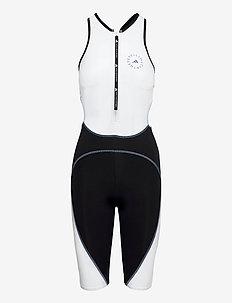 BeachDefender Trisuit W - sportsbadetøj - stoblu/black/white