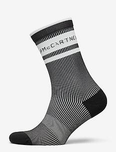 aSMC CREW SOCKS - kousen - black/black/white/whi