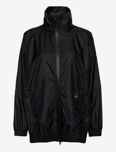 Shiny Woven Track Top W - training jackets - black