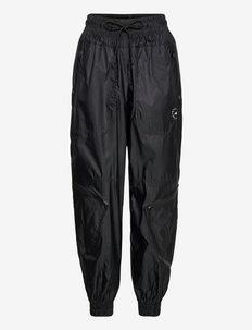 Shiny Woven Track Pants W - spodnie treningowe - black