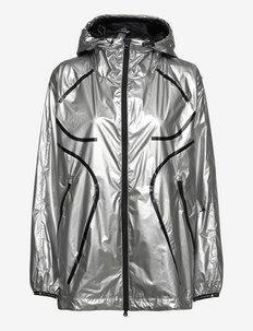 TruePace Metallic Running Jacket W - treenitakit - silvmt/black