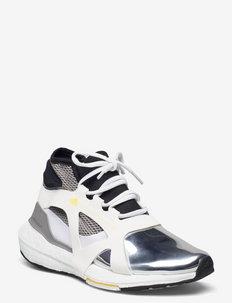 Ultraboost 21  W - running shoes - ftwwht/silvmt/eqtyel