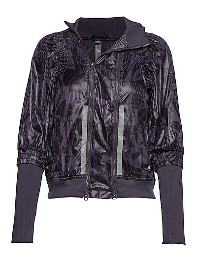 Run Jacket Outerwear Sport Jackets Lila ADIDAS BY STELLA MCCARTNEY