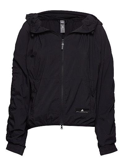 Run Light Jkt Outerwear Sport Jackets Schwarz ADIDAS BY STELLA MCCARTNEY