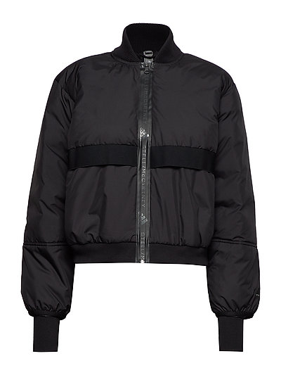 Padded Bomber Outerwear Sport Jackets Schwarz ADIDAS BY STELLA MCCARTNEY