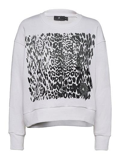 Graphic Sweat Sweat-shirt Pullover Weiß ADIDAS BY STELLA MCCARTNEY