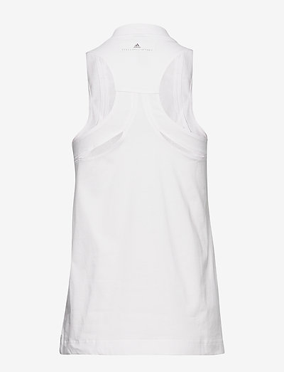 Adidas By Stella Mccartney Graphic Tank- T-shirty I Topy White