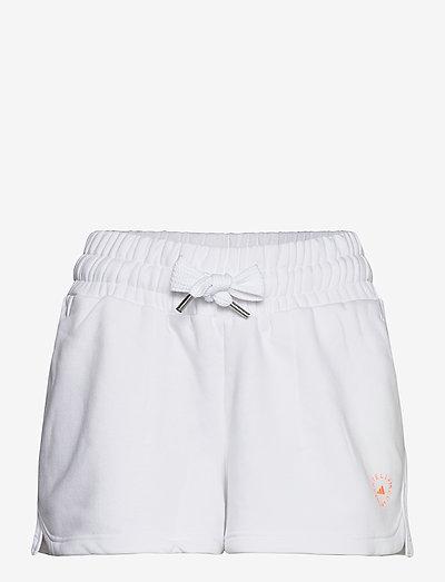 SWEAT SHORT - trainings-shorts - white