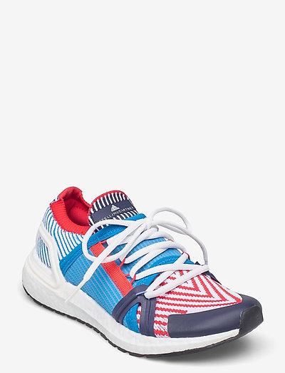 Ultraboost 20 W - chaussures de course - brblue/conavy/vivred