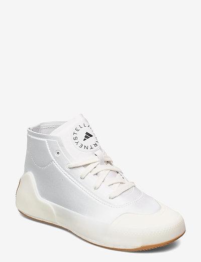 Treino Mid-Cut W - hoge sneakers - ftwwht/owhite/pearos
