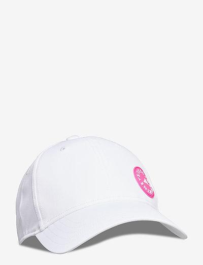 Running Cap W - caps - white/sopink/white