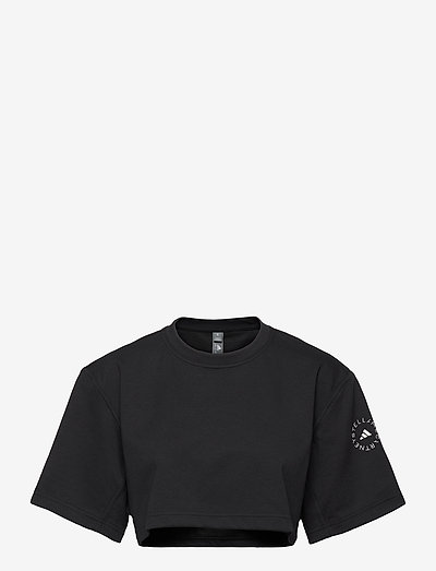 Future Playground Cropped T-Shirt W - tops & t-shirts - black
