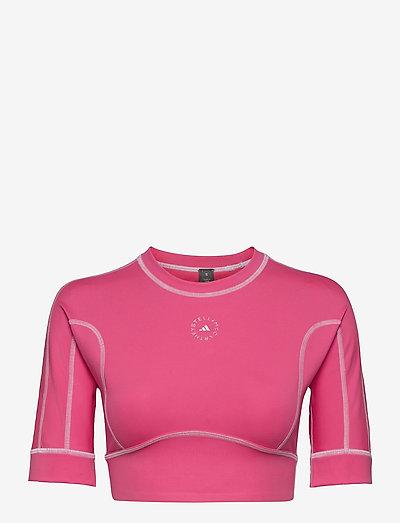 TrueStrength Yoga Crop Top W - toppe og t-shirts - sopink