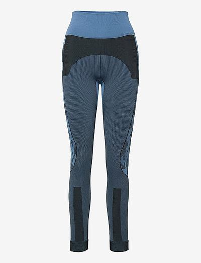 TruePurpose Seamless Tights W - running & training tights - stoblu/black