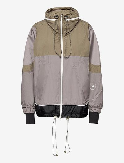 Training Suit Jacket W - training jackets - dovgry/clay/black