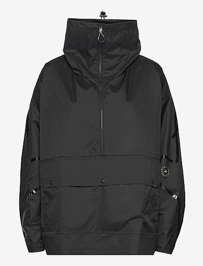 Half-Zip Mid-Length Jacket W - träningsjackor - black