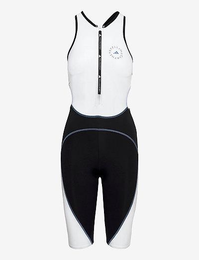 BeachDefender Trisuit W - sports swimwear - stoblu/black/white