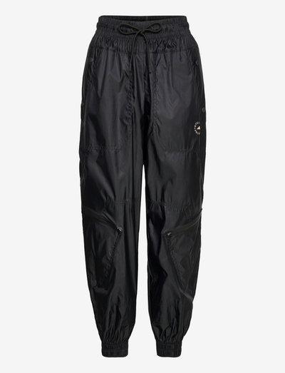 Shiny Woven Track Pants W - treningsbukse - black