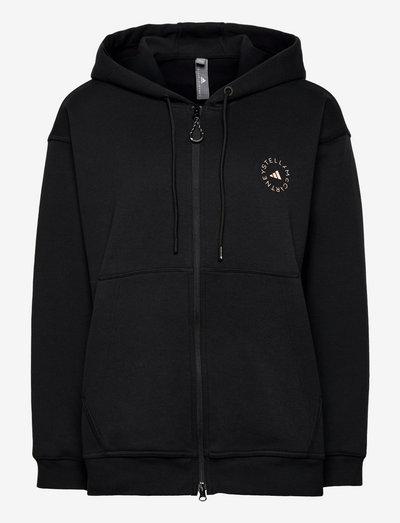 SC Full Zip Hoodie W - gensere og hettegensere - black